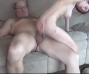 36:35 , Old Man with Very Big Cock Have a passion Skinny and Busty Teen