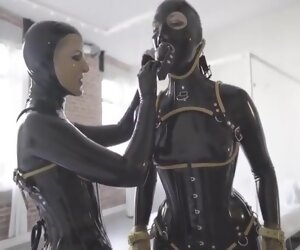 15:29 , Two Latex Girls