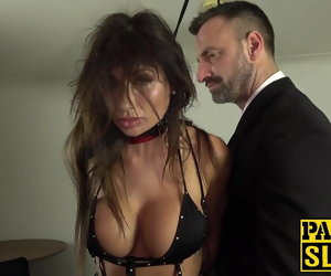 10:00 , Hot MILF subslut gagged and hammered by master Pascal