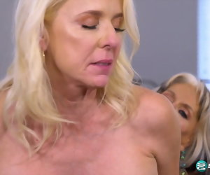 24:22 , Granny Fuck Club - Someone's skin first-ever six-way granny orgy