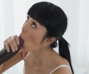 23:40 , Big Black Cock Cum Hardcore Interracial Straight Swallow
