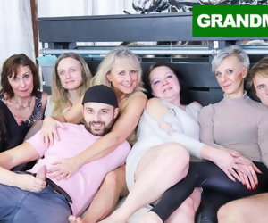 10:37 , Insane Granny Orgy Courage Make Your Cock Hard AF!