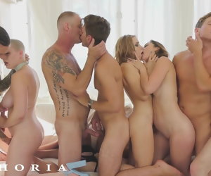 12:00 , BiPhoria - AC/DC Couple Turns Party Buy Wild Orgy