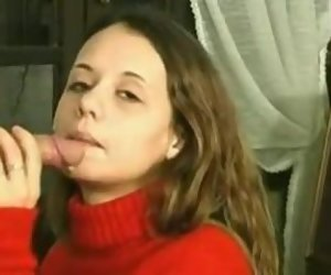 15:49 , French 1st blowjob facial