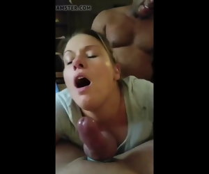 4:12 , Gorgeous wife facing hubby, gets fucked unconnected with bbc