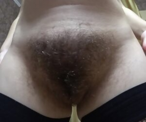4:06 , milf in early pregnancy, very hairy pussy, chunky nipples
