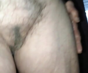 1:13 , visited my very old aunt again, great saggy tits, hairy pussy