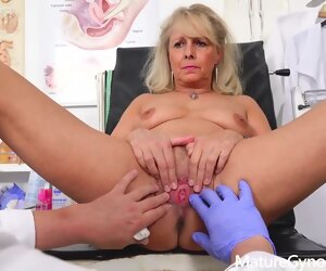 30:38 , Blonde Doctor Fetish Granny Hd Mature Office Straight Toys