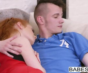8:00 , Babes - Step Mom Lessons - Dodgy House-servant starring Ella Hughes a