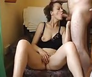 1:26 , Mature wife plays with her pussy and has awesome turning-point