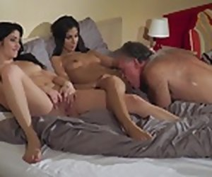 6:14 , Old Young Porn Teens share padre with an increment of private road his cock
