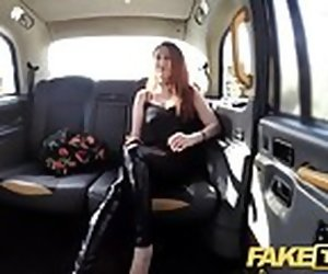 7:50 , Fake Taxi Curvy big tits with ginger foundry pussy wants bushwa