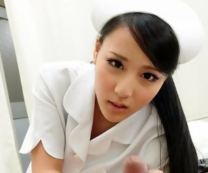 8:00 , Smooth Asian nurse obtaining banged from a difficulty at hand doggy style