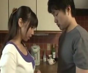 14:59 , Blow Fingering Japanese Kitchen Teen Wife