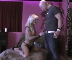 30:52 , Blonde shemale fucked on fur-covered couch