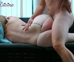 5:01 , Mom lets  son fuck her big ass!