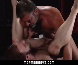 8:28 , MormonBoyz - Sexy daddy priest rake over the coals fucks his assistant