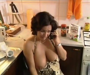 11:00 , Broad in the beam Floppy Tits MILF German Anastasia