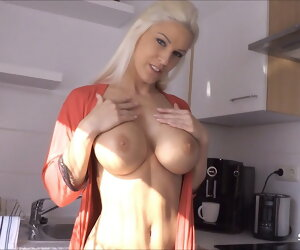 9:45 , German Sexy Stepmom Blanche Seduced to Taboo Fuck by Son
