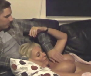 15:36 , British Stepmom With the addition of Son Get Obstructed Out On A Hidden Camera