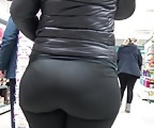 1:11 , Candid splutter butts in spandex and see browse tights