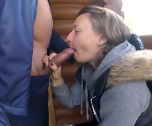 2:52 , Outdoor Russian Amateur Couple Fucking Mature Milf