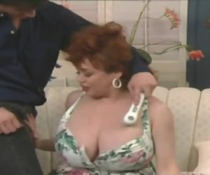 21:47 , Huge tits vintage bbw step old lady