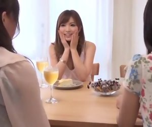 19:20 , Amazing Japanese girl Rina Kato on every side Hottest Lesbian, Cunnilingus JAV..