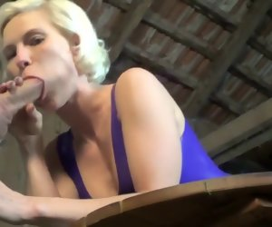 6:39 , Kim-van-Staart - Deep Blowjob in Latex
