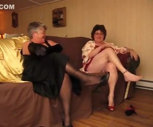 9:20 , Stunning Amateur team of two to Stockings, Grannies scenes