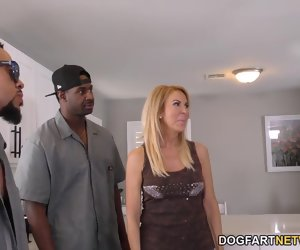 9:08 , Anal Slut Cougar Erica Lauren Interracial Gangbang
