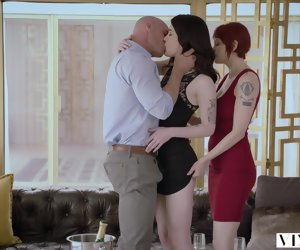 12:43 , Blow Brunette Couple Doggystyle Facial Hd Red Straight Threesome Tits