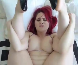 17:14 , Hot MILF Redhead takes handling of young gentleman