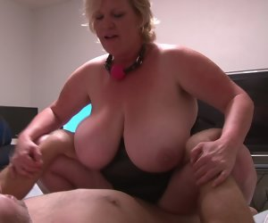 17:27 , Huge Tit Broad in the beam Hot goods Mature Blonde Anal Abuse