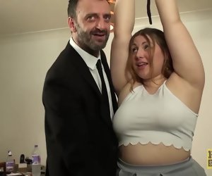 10:05 , British BBW rammed and punished off out of one's mind kinky older guy