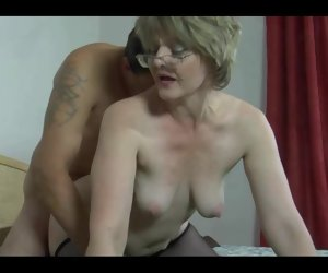 13:17 , Mom Phone Red Saggy Stockings Tits Blow Boy Granny Hd