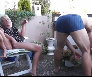 7:04 , Amateur Blow Granny Mature Outdoor Straight
