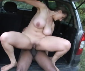 12:39 , Mature With Titanic Tits Lose one's heart to Outdoor With BBC