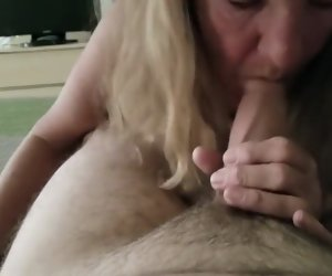 1:46 , Amateur Blonde Blow Cock Cum Granny Mature Swallow