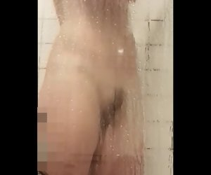 2:28 , MILF up her shower, heedless of the camera