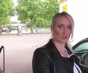6:59 , german girl gets fucked washing her car