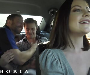 12:21 , BiPhoria - Hot Uber Postilion Joins Horny Gay Couple