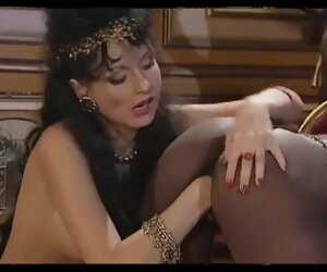 24:01 , Hot young harem dame Candice serving the masters
