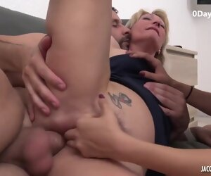 50:10 , Dam And Daughter Threesome